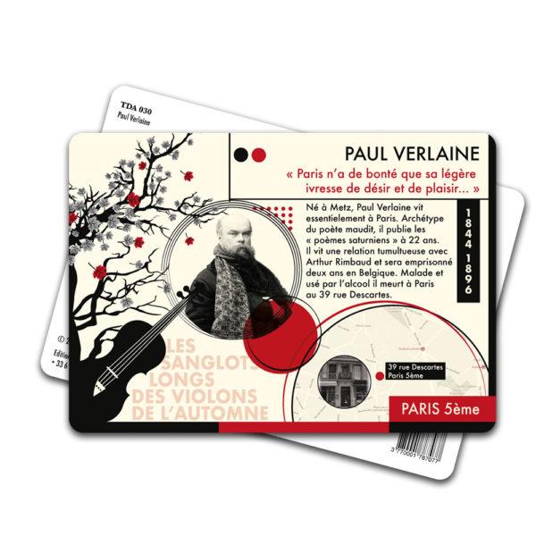 Carte Postale Paul Verlaine