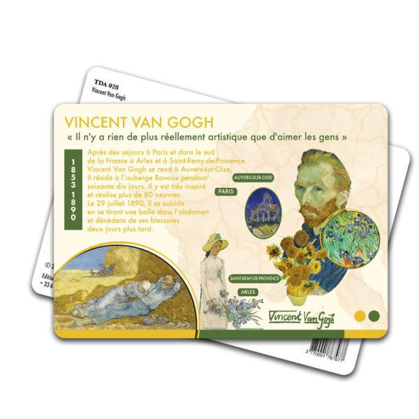 Carte Postale Vincent Van Gogh