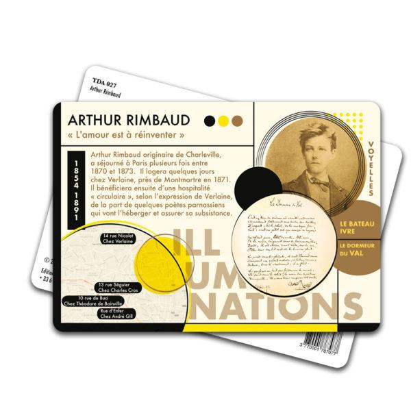 Carte Postale Arthur Rimbaud