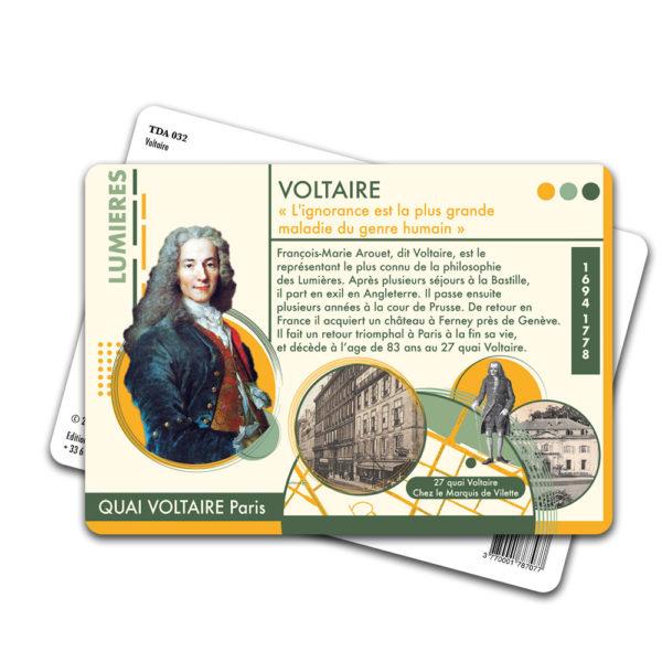 Carte Postale Voltaire