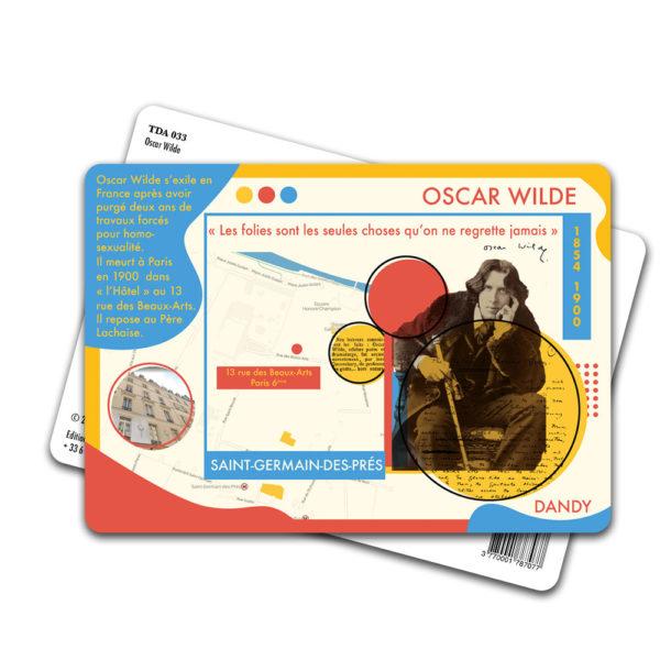 Carte Postale Oscar Wilde
