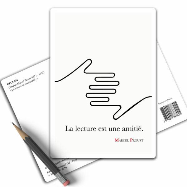 Marcel Proust la lecture est une amitié